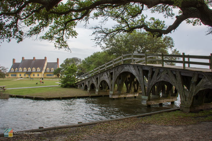 Bridge to Whalehead in Historic Corolla