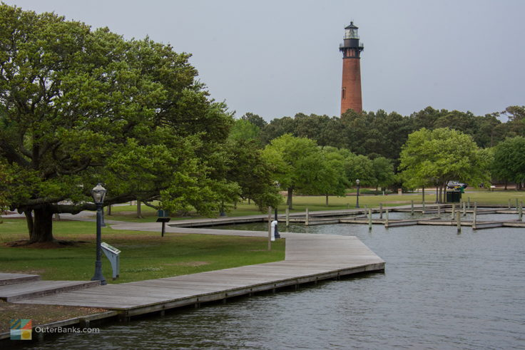 Currituck Beach Light from Historic Corolla Park