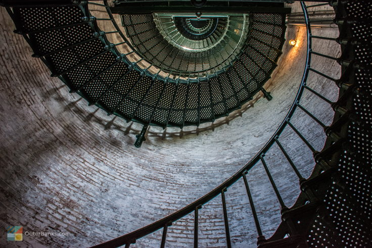Currituck Beach Light stairs