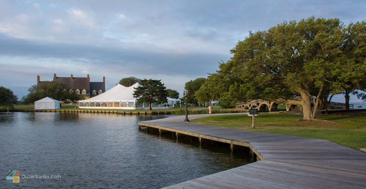 Wedding venues at Historic Corolla Park