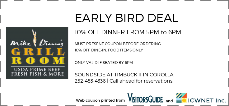 10% OFF EARLY BIRD