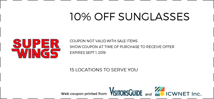 10% OFF SUNGLASSES